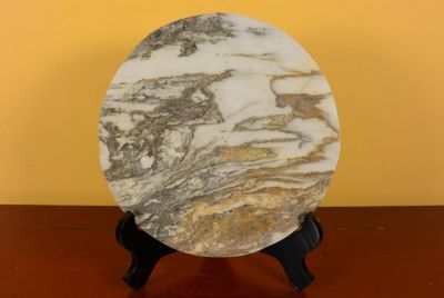 Small Chinese Marble Dreamstone Painting - Landscape