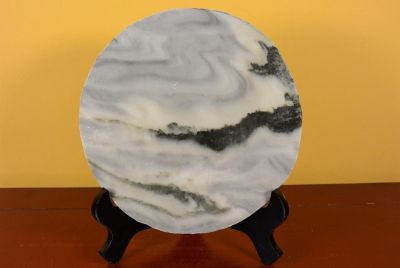 Small Chinese Marble Dreamstone Painting