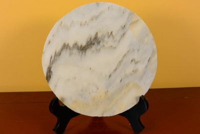 Small Chinese Marble Dreamstone Painting 3