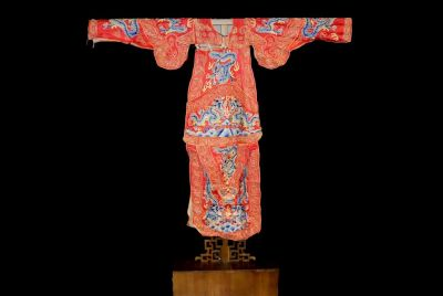 Ancient Chinese Theater Costume Rouge
