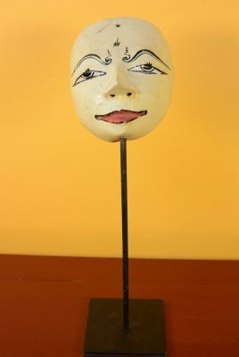 Old Java mask (50 years) - Ivory