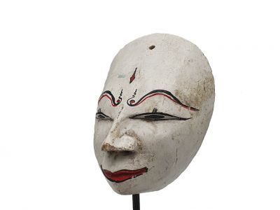 Old Java mask (50 years) - White 2