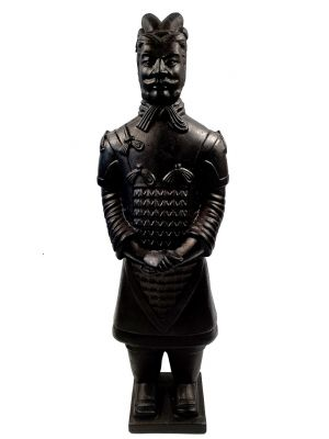 Terracotta Warrior - Terracotta army - Modern Version - Black