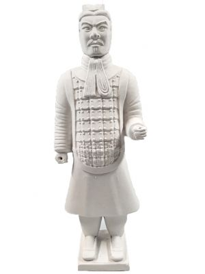 Terracotta Warrior - Terracotta army - Modern Version - White