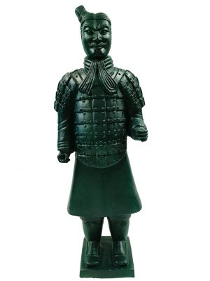 Terracotta Warrior - Modern Version - Dark green