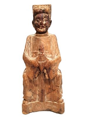 Chinese Votive Statue - Qing Dynasty - Ancestor