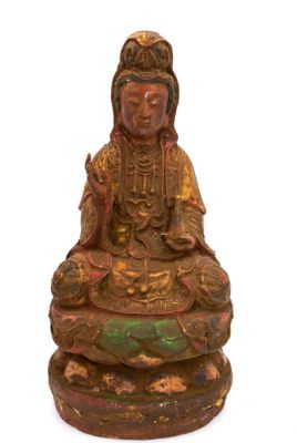 Old reproduction - Chinese votive statue - GuanYin