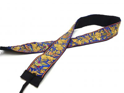 Miao Belts Embroidery Navy Blue