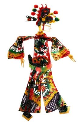Chinese shadow theater - PiYing puppets - Man