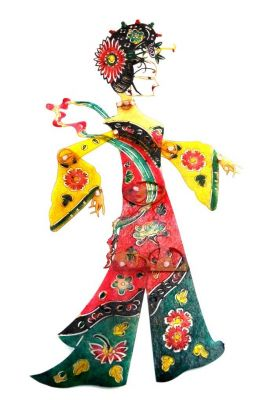 Chinese shadow theater - PiYing puppets - Woman