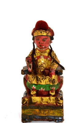 Old reproduction - Small Chinese votive statue
