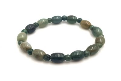 Jade Bracelet - Round and Oval - Green