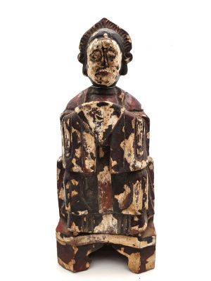 Chinese Votive Statue - Qing Dynasty - Chinese woman