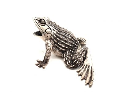Chinese Statue Metal Toad