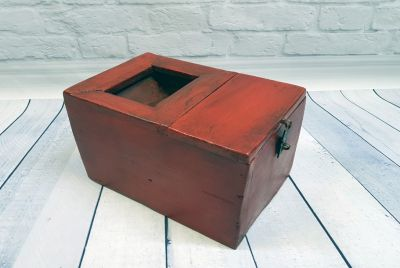 Old Chinese Chest Money box - Wedding