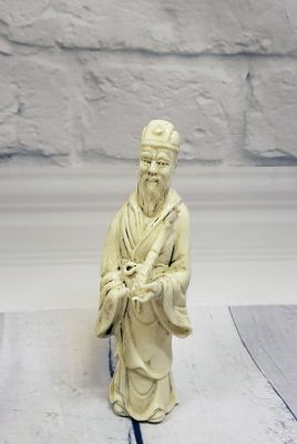 Estatua China Blanca - Porcelana Dehua