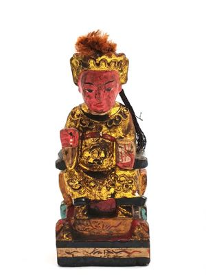 Old reproduction - Small Chinese votive statue - Empress
