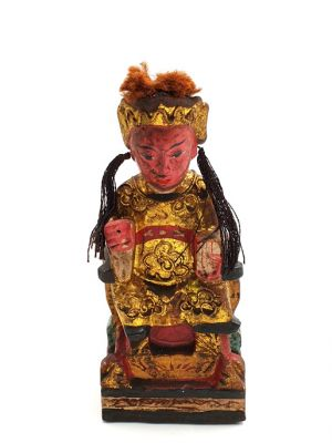 Old reproduction - Small Chinese votive statue - Chinese ancestor