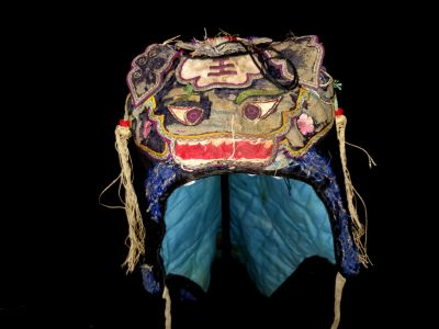Old Chinese child headdress Funny monster