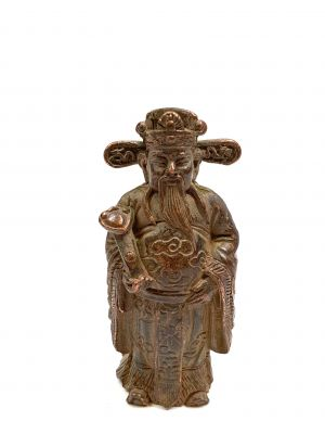 Brass Statue Little chinese monk