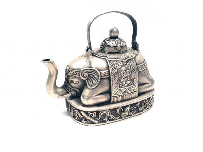 Chinese teapot of the Miao minority - Elephant