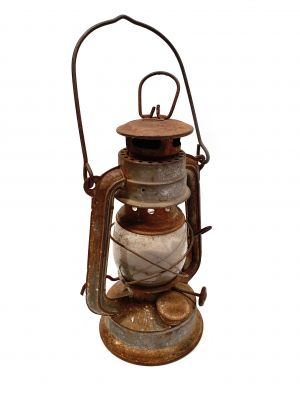 Old chinese Safety Lamp
