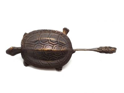 Chinese Brass padlock Turtle