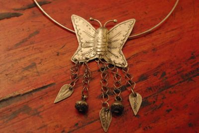 Small Necklace Butterfly