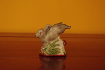 Rabbit snuff boxes from China