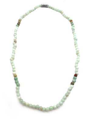 Necklaces with 108 small jade beads