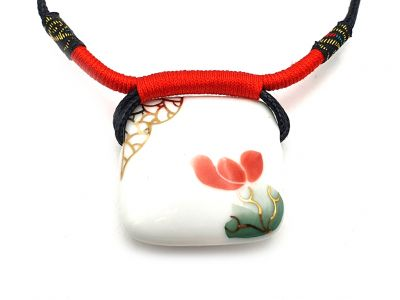 Ceramic Necklace Emperor of Japan Collection