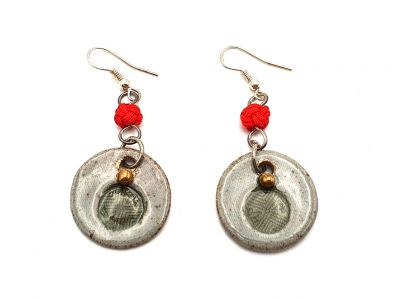 Road to India Ceramic Earrings