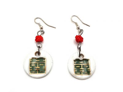 Indian Ceramic Earrings