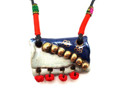Asian Ceramic Necklace