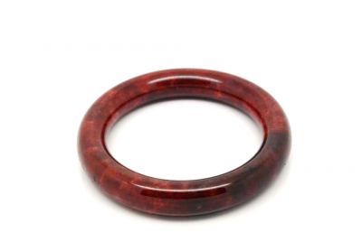 Dark Red Jade Bracelet