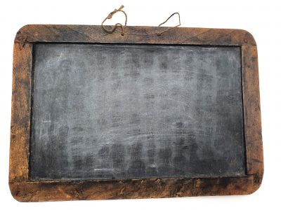 Antique School Slate from China