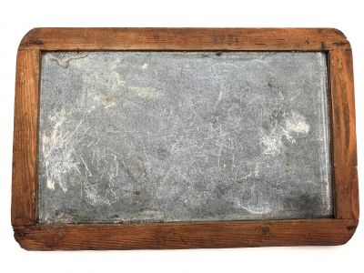 Chinese Antique School Slate