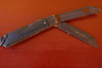 Old Chinese Knife 2 Blades