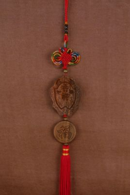 Feng Shui Pendants in Wood happiness