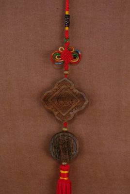 Feng Shui Pendants in Wood Luck and Happiness