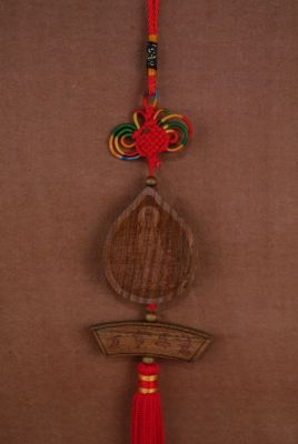 Feng Shui Pendants in Wood Chinese