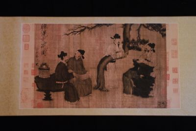 Zhou Wenju Tang Dynasty Chinese Sages