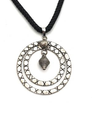 Miao Minority bell necklace