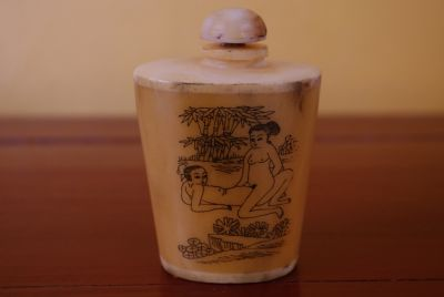 Erotica Snuff Box and Snuff Bottle Kamasutra 2
