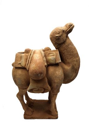 Chinese Terracotta Statue Small Camel