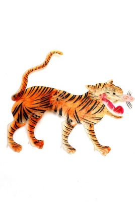 Chinese Shadow play PiYing Tiger