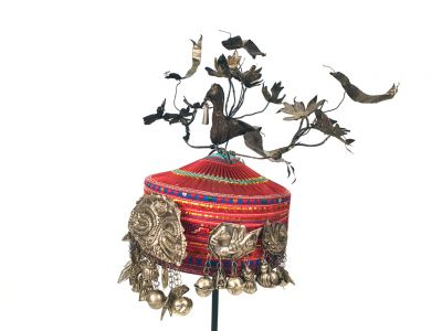 Young girl Chinese Miao minority Bird Headdress