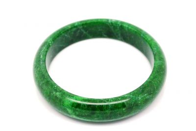 Dark green Jade bangles Type A 5 8cm