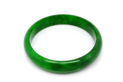 Dark green Jade bangles Type A 5 9cm
