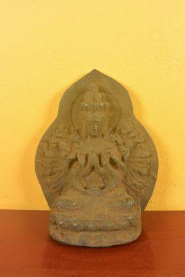 Petit Bouddha en Métal Bouddha aux mille mains